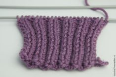 Knit 22 cm this way, and then make an overlap. To do this, divide the work into 2 parts by 12 loops and knit separately, first the left half, then the right one. Knit 6 cm this way. Easy Knitting, Knitting For Beginners, Knitting Stitches, Knitting Socks, Knitting Patterns Free, Crochet Boot Cuffs, Fingerless Gloves Knitted, Knitted Hats, Knitted Headband Free Pattern