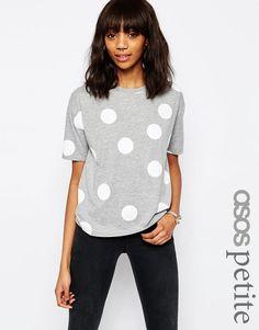 Image 1 - ASOS Petite - T-shirt à pois