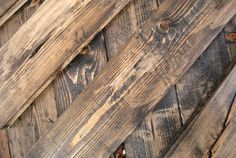 How to make new wood look old - I have something good in mind for this!