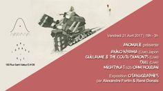 Fin avril, Anomalie est heureux de vous présenter un évènement délicieusement atypique pour célébrer l'arrivée du beau temps. Au sein d'une rare visite nord-américaine, la magicienne Akiko Kiyama nous fera l'honneur de se joindre à plusieurs talents musicaux de Montréal et au-delà. dull (Live), Guillaume & the Coutu Dumonts (Live), Ohm Hourani et MightyKat dialogueront en musique pendant qu'Alexandre Fortin et René Donais exposeront leur ensemble d'Otakugraphies