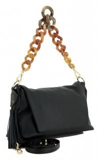 !!!Henkeltasche Überschlag Gianni Chiarini Nero Designergriff Rind, Shoulder Bag, Bags, Fashion, Leather Satchel, Sachets, Handbags, Moda, La Mode