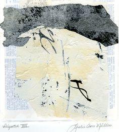 Asemic Collage Leslie Avon Miller