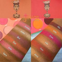 The Saharan Blush Vol. I Blush Palette by Juvia's Place #4