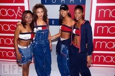 Tommy Hilfiger and Overalls - ulimate late 90's