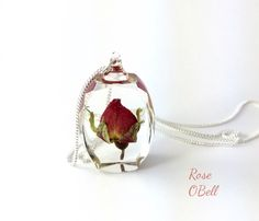 A personal favorite from my Etsy shop https://www.etsy.com/listing/225121032/crystal-rose-pendant-necklace-sterling
