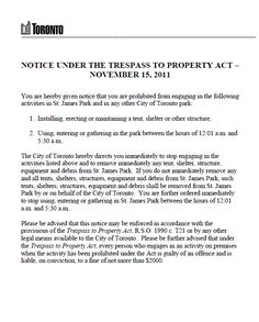 Free No Trespassing Letter Template