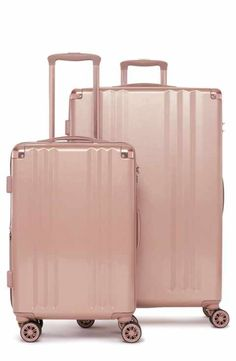 Rose Gold Marble Print 1 Traveler Lightweight Rotating Luggage Cover Can Carry With You Can Expand Travel Bag Trolley Rolling Luggage Cover