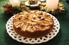 מושלמת ליום חורף קר: עוגת תפוחים עסיסית וריחנית עם קינמון, ג'ינג'ר ואגוזי פקאן, ב-100 קלוריות לפרוסה בלבד