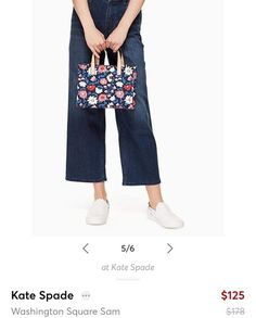 I love the florals and colors of this Kste Spade bag! It's perfect for spring/summer!! #ShopStyle #shopthelook #SpringStyle #SummerStyle #MyShopStyle
