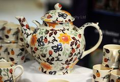 Emma Bridgewater pottery designed especially for Each Hospices.                                                                                                                                                                                 More