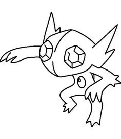 onyx mega evolution coloring pages - photo#8