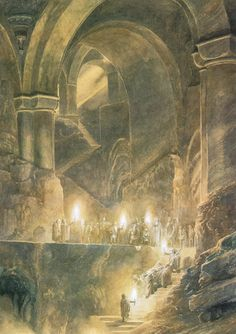 Tolkien Photo: Alan Lee`s illustration Jrr Tolkien, Alan Lee, Art And Illustration, Illustration Pictures, Book Illustrations, I Love You Drawings, Alchemy Art, O Hobbit, Hobbit Art