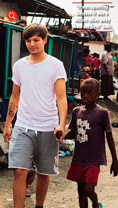 Louis made a friend :)