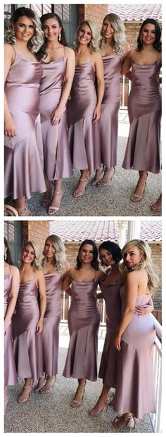 Previous Next Spahgetti Straps Dusty Purple Tea Length Cheap Custom Bridesmaid Dresses Online, Spahgetti Straps Dusty Purple Tea Length Cheap Custom Bridesmaid Dresses Online, Previous Next Dusty Purple Bridesmaid Dresses, Tea Length Bridesmaid Dresses, Bridesmaid Dresses Online, Dusty Purple Dress, Bridesmaid Bouquets, Bridesmaid Outfit, Bridesmaid Ideas, Dusty Blue, Cheap Wedding Dress