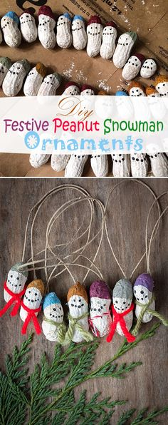 Here's wishing you a happy happy holiday season full of love and lots craft idea's, of course. Check out these Diy Festive Peanut Snowman Ornaments for an Easy Christmas Tree Decoration. Merry Christmas!!