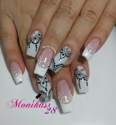 Pamela, Manicure And Pedicure, Stamping, Nail Art, Inspiration, Beauty, Ballerina Nails, Brides, Short Nails
