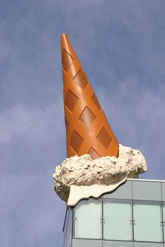 Dropped cone by michael_hamburg69, via Flickr....5th...wednesday