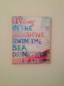DIY Canvas Print, DIY artwork, canvas print