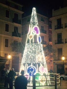 rbol en la plaza del doctor collado de valencia valencia rbolnavidad navidad2015