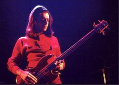 Mick Karn of Japan on his Wal bass. He passed away last year but his unique bass style will live on forever. No one can duplicate it.