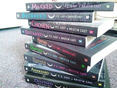 House of Night series by P.C. Cast and Kristin Cast