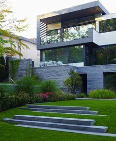 modern terraced lawn - Google Search