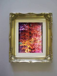 """Autumn"" the Oxford series by Jewel £100 incl silver frame"