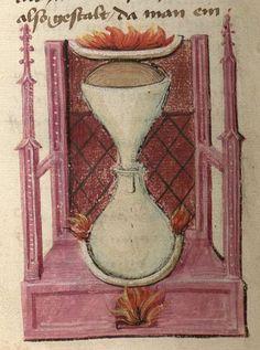 Buch der heiligen Dreifaltigkeit  Franken, 2. Hälfte 15. Jh. Cgm 598 Folio 40