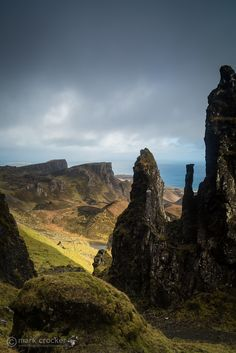 Quiraing | Marcus McAdam took me to a great spot in the Quiraing. Such was the stunning scenerio that I took frequent stops to admire the view. This had nothing to do with my terrible fitness levels and the climb to the top!