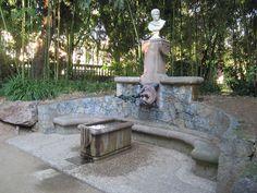 Gaudí Gaudi, 2d, Fountain, Garden Sculpture, Outdoor Decor, Modernism, Design Web, Architecture, Water Fountains