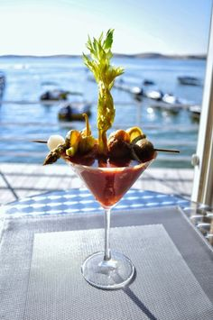 I love a great Bloody Mary and I also love a great Dirty Martini with blue cheese stuffed olives. So I will share with you my favorite summer drink that...