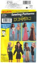 Free Barbie patterns and tutorials