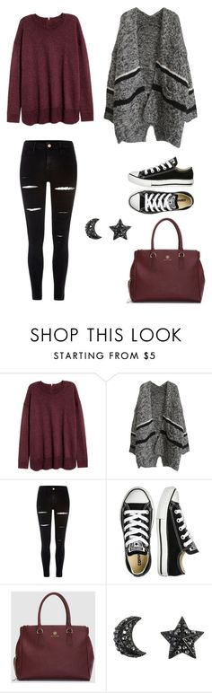 """""""Autumn outfit"""" by secret-girl02 ❤ liked on Polyvore featuring River Island and Converse"""