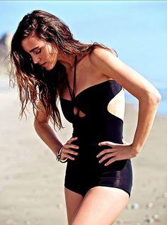 NWOT $128 Free People Movement X Zinke black One Piece Bathing Suit S #ByFPMovementxZinke #onepiece