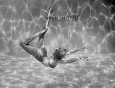 underwater ballet, 1945, by walter sanders
