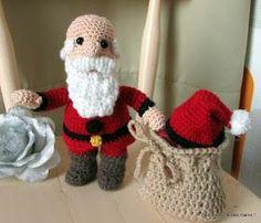 Père Noël au crochet tuto gratuit