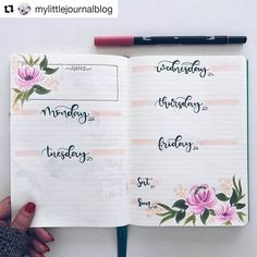 "1,759 Likes, 8 Comments - Bullet Journal Inspire  (@bujoinspire) on Instagram: ""#Repost @mylittlejournalblog (@get_repost) ・・・ It,s bujo time """