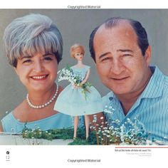 """Ruth (Barbie creator) and Elliot Handler 1961 pic from the book """"Barbie A Rare Beauty"""" by Sandi Holder - me :)"""