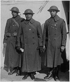 1919 February 10, Officers of Famous African American Regime