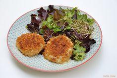 recette rocamadour pané au pain d'épices http://radisrose.fr/rocamadour-pane-au-pain-depices/ #recette #fromage #rocamadour