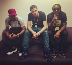 Kendrick Lamar, J. Cole and Wale <3