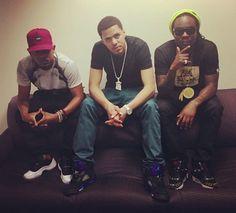 Kendrick Lamar, J. Cole et Wale en #AirJordan et #Nike x #Atmos
