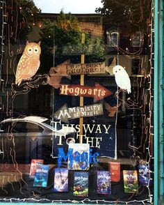 Harry Potter display window