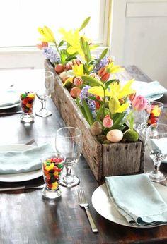 Easter centrepiece i