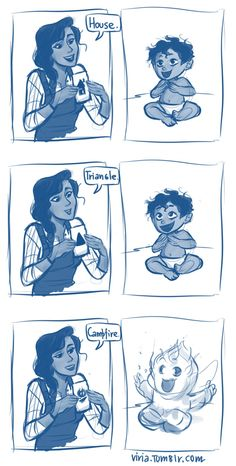 viria: I was scrolling through my dashboard and saw this post with 'baby leo valdez' tag. so yeah, totally drawing it now.