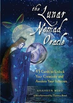 """I am so excited to share the news with all you magical people! I am joining the Red Wheel/Weiser Family… My new book and oracle deck, """"The Lunar Nomad Oracle: 43 Cards to Unlock Your Cr…"""