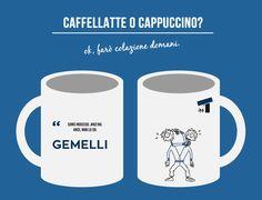 Cosa c'è di meglio del fare colazione in compagnia di una persona del segno dei Gemelli? Tutto. Se non siete persone pazienti.  Sì, perché il segno eternamente indeciso potrebbe farvi esasperare di fronte alla semplice domanda su cosa desideri bere.  Per fortuna, però, almeno la tazza potete sceglierla voi. Acquistatela nel nostro store.  #oroscopodisadattato #oroscopo #zodiaco #gemelli #segnizodiacali #tazza #cup #gadget #segnogemelli #breakfast #colazione