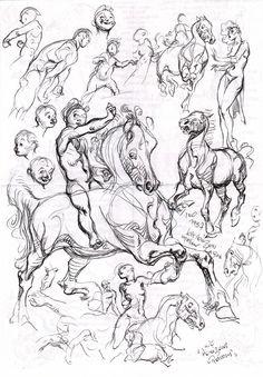 Al Severin - Sketches, in Rob Stolzer's Severin, Al Comic Art Gallery Room
