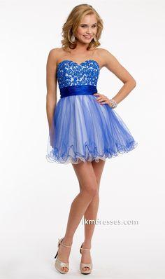 http://www.ikmdresses.com/Lace-Applique-Bodice-Short-Dress-p87401