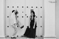Fotografía de Bodas parejas - Cartagena Centro histórico Wedding photography in Colombia